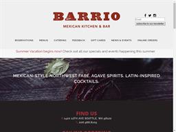 Barrio Mexican Kitchen & Bar shopping