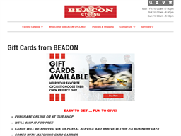 Beacon Cycling gift card purchase
