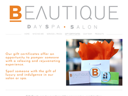 Beautique Rice Village gift card purchase