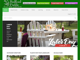 Bedford Fields Home & Garden Center shopping