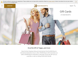 Bellagio Hotel Las Vegas gift card purchase