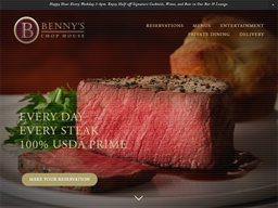 Benny's Chop House shopping