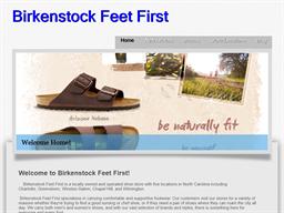 Birkenstock Feet First shopping
