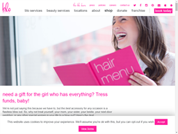 Blo Blow Dry Bar gift card purchase