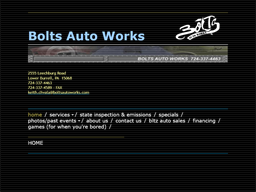 Bolts Autoworks shopping