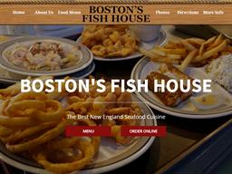 Boston's Fish House shopping