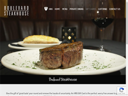 Boulevard Steakhouse gift card purchase