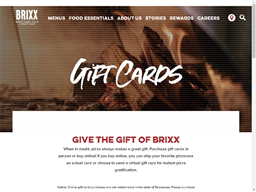Brixx gift card purchase