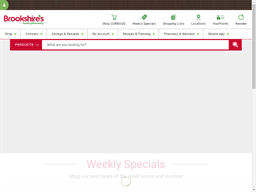 Brookshires Food & Pharmacy shopping