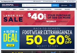 Olympia Sports shopping