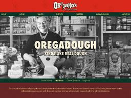 Oregano's Pizza Bistro gift card balance check
