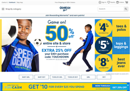 OshKosh B'gosh shopping