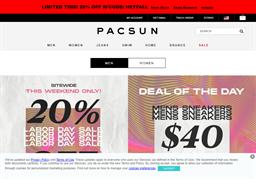 PacSun shopping