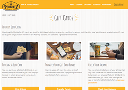 Potbelly gift card purchase
