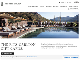 The Ritz Carlton gift card purchase