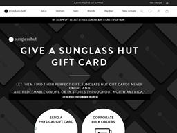 Sunglass Hut gift card purchase
