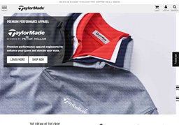 TaylorMade Golf shopping