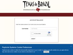 Texas de Brazil gift card purchase
