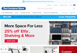 The Container Store shopping