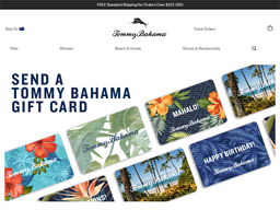 Tommy Bahama gift card purchase
