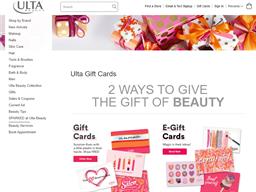 ULTA gift card purchase