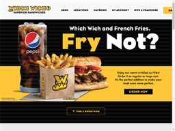 Which Wich shopping