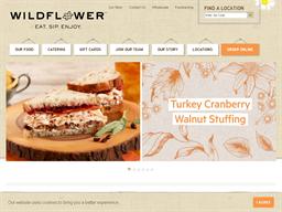 Wildflower Bread Company shopping