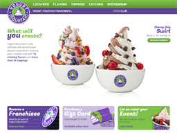 Yogurt Mountain shopping