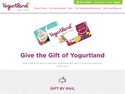 Yogurtland gift card balance check