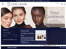 Estee Lauder shopping