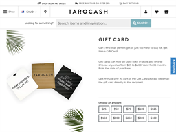 Taco Cash gift card purchase