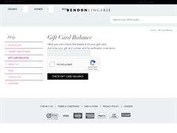 Lovable gift card balance check