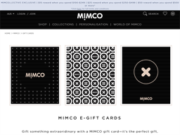 Mimco gift card purchase