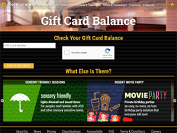 Regent Cinemas gift card purchase