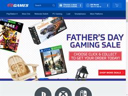 EB Games shopping