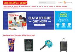 The Reject Shop shopping