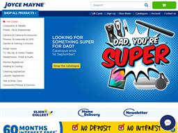 Joyce Mayne shopping