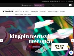 Kingpin Bowling shopping