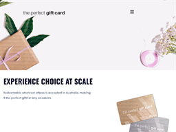 The Perfect Gift Card gift card purchase
