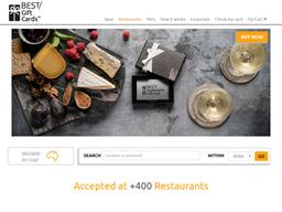 Best Restaurants Gift Card (Black) shopping