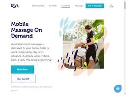 Blys In-Home Massage shopping