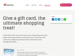 Castle Plaza gift card purchase