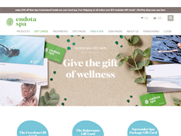 Endota Spa gift card purchase