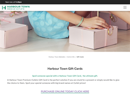 Harbour Town Adelaide gift card purchase
