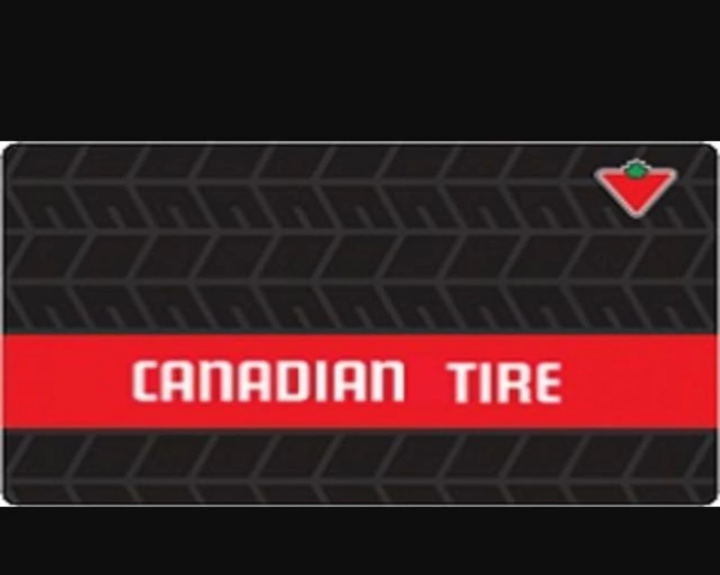 Canadian Tire gift card design and art work