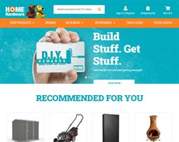 Home Timber & Hardware shopping