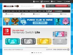 EB Games (Game Stop) gift card balance check