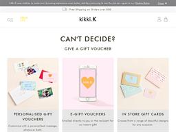 kikki.K gift card purchase