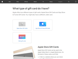 App Store & iTunes gift card purchase