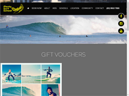 Manly Surf School gift card purchase